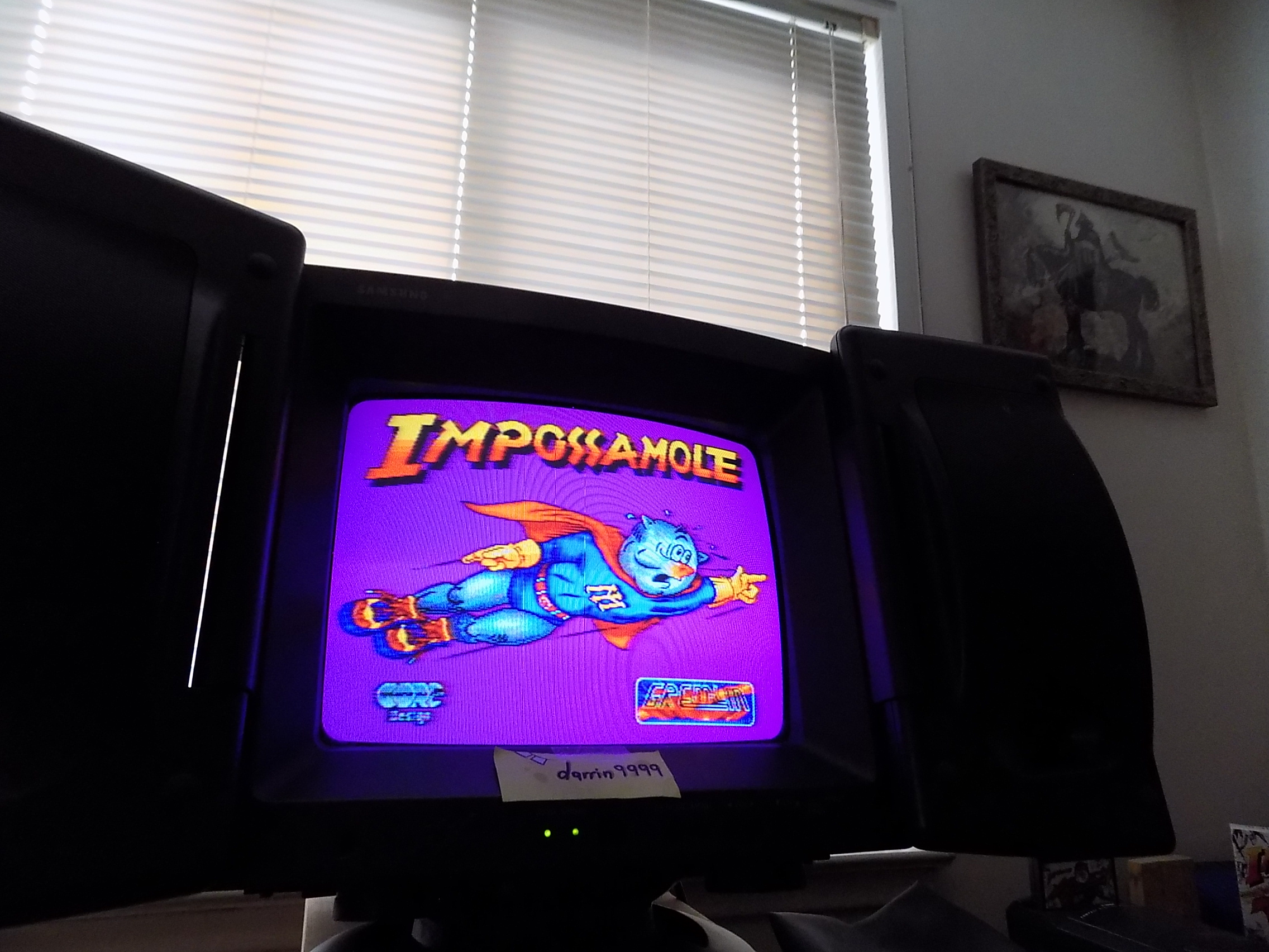 darrin9999: Impossamole (Atari Jaguar) 2,200 points on 2019-08-20 16:30:10