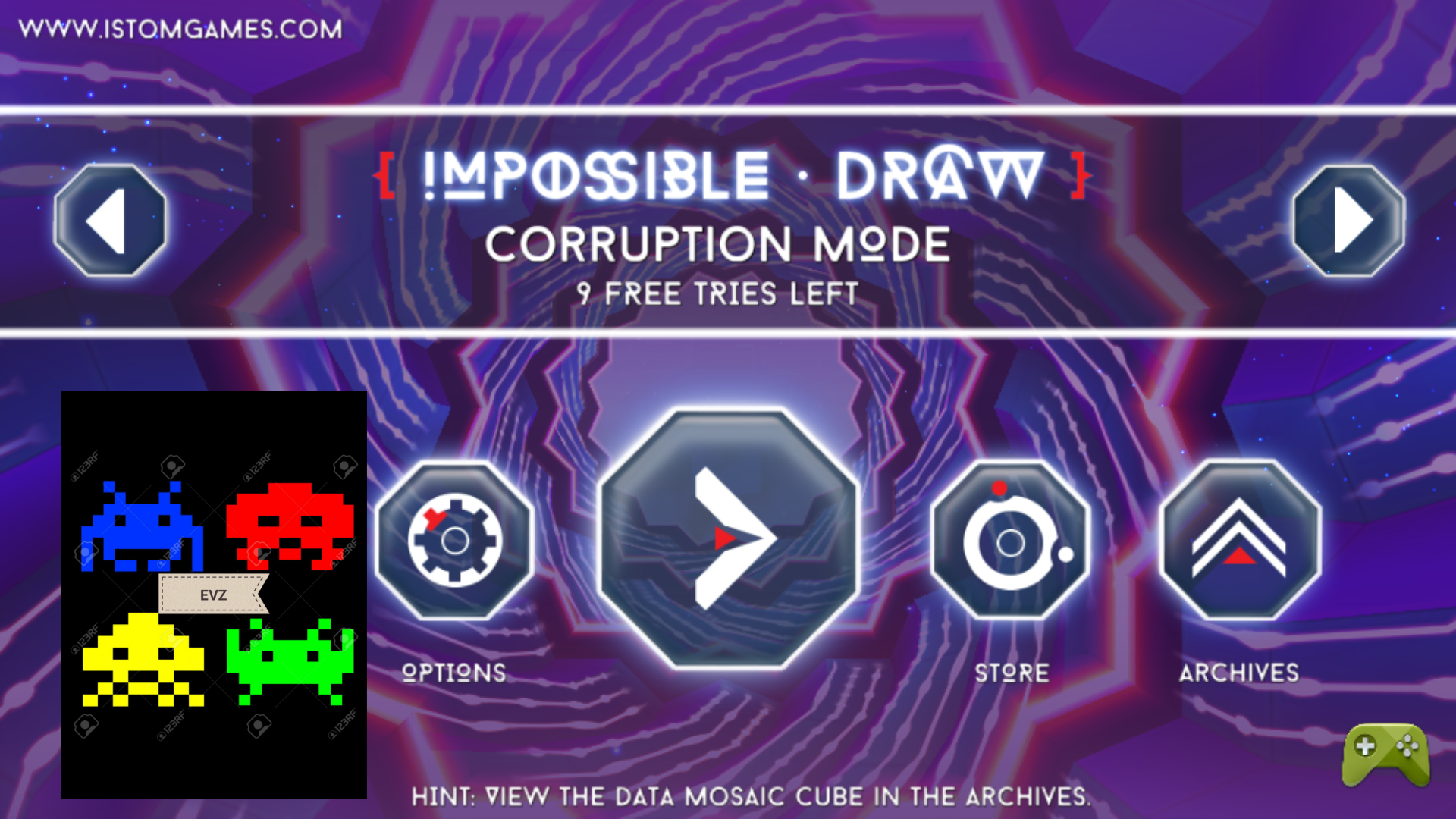 ministorm04: Impossible Draw [Corruption] (Android) 17,400 points on 2019-06-08 13:08:52