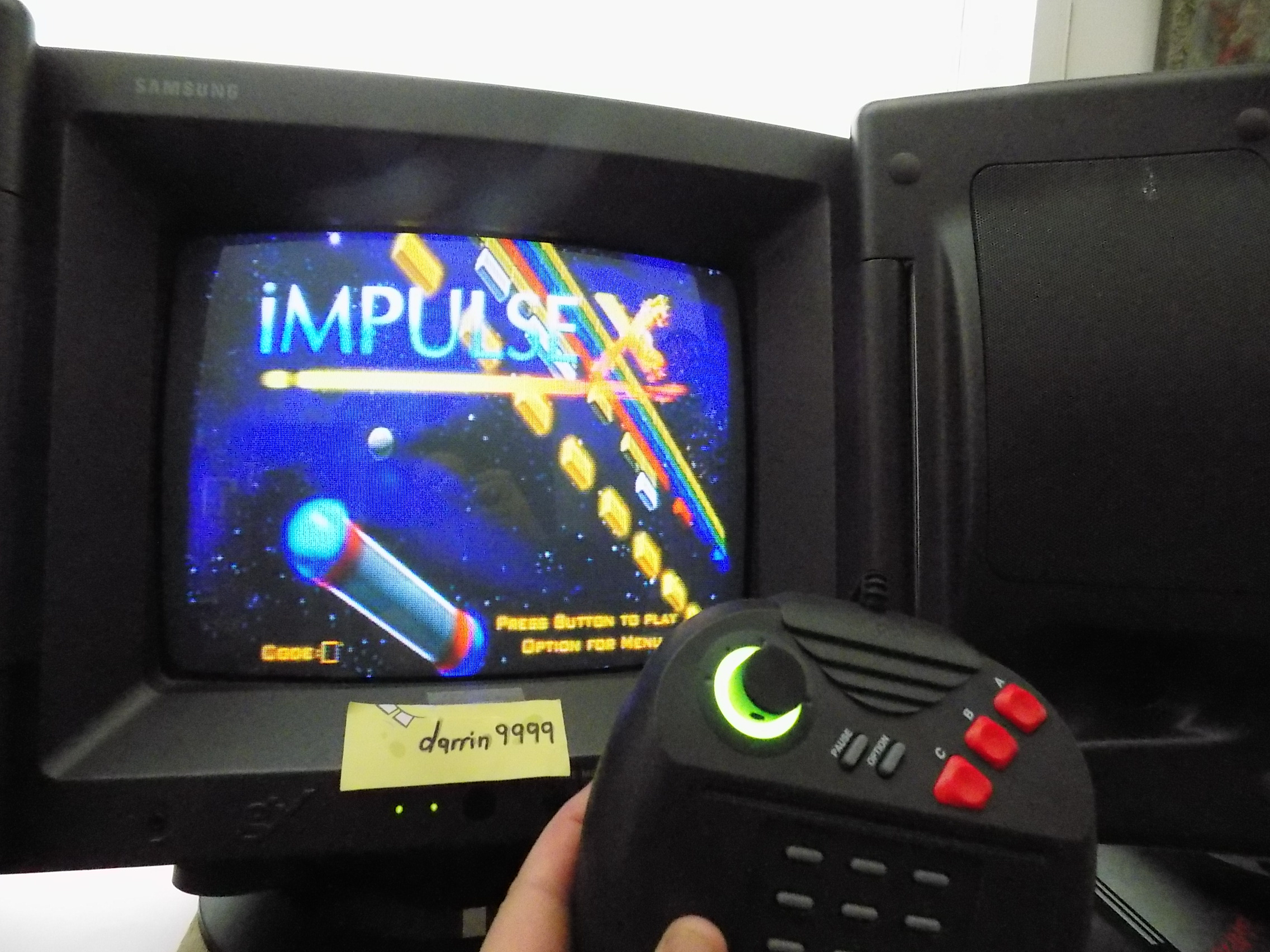 darrin9999: Impulse X (Atari Jaguar) 42,750 points on 2019-10-05 14:08:45