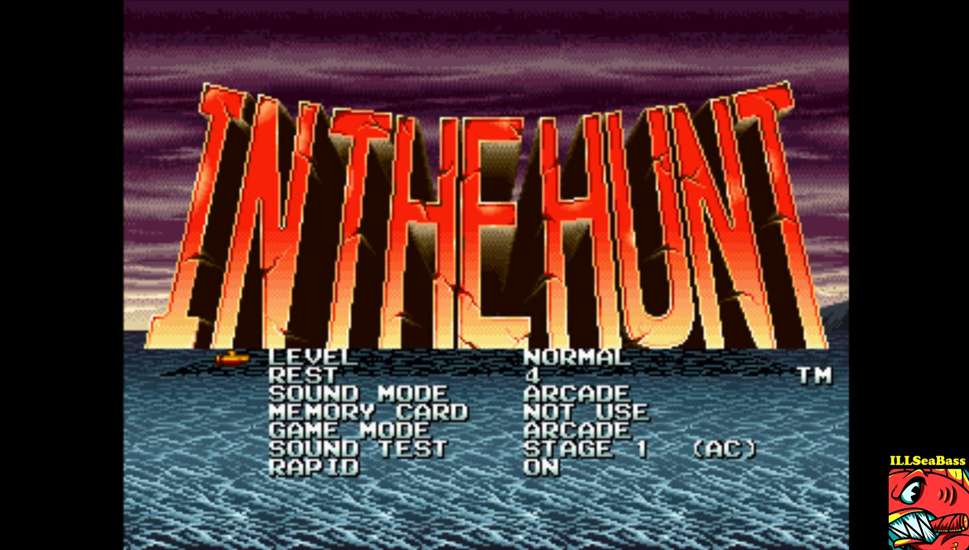 In The Hunt [Normal / 4 Lives] 128,000 points