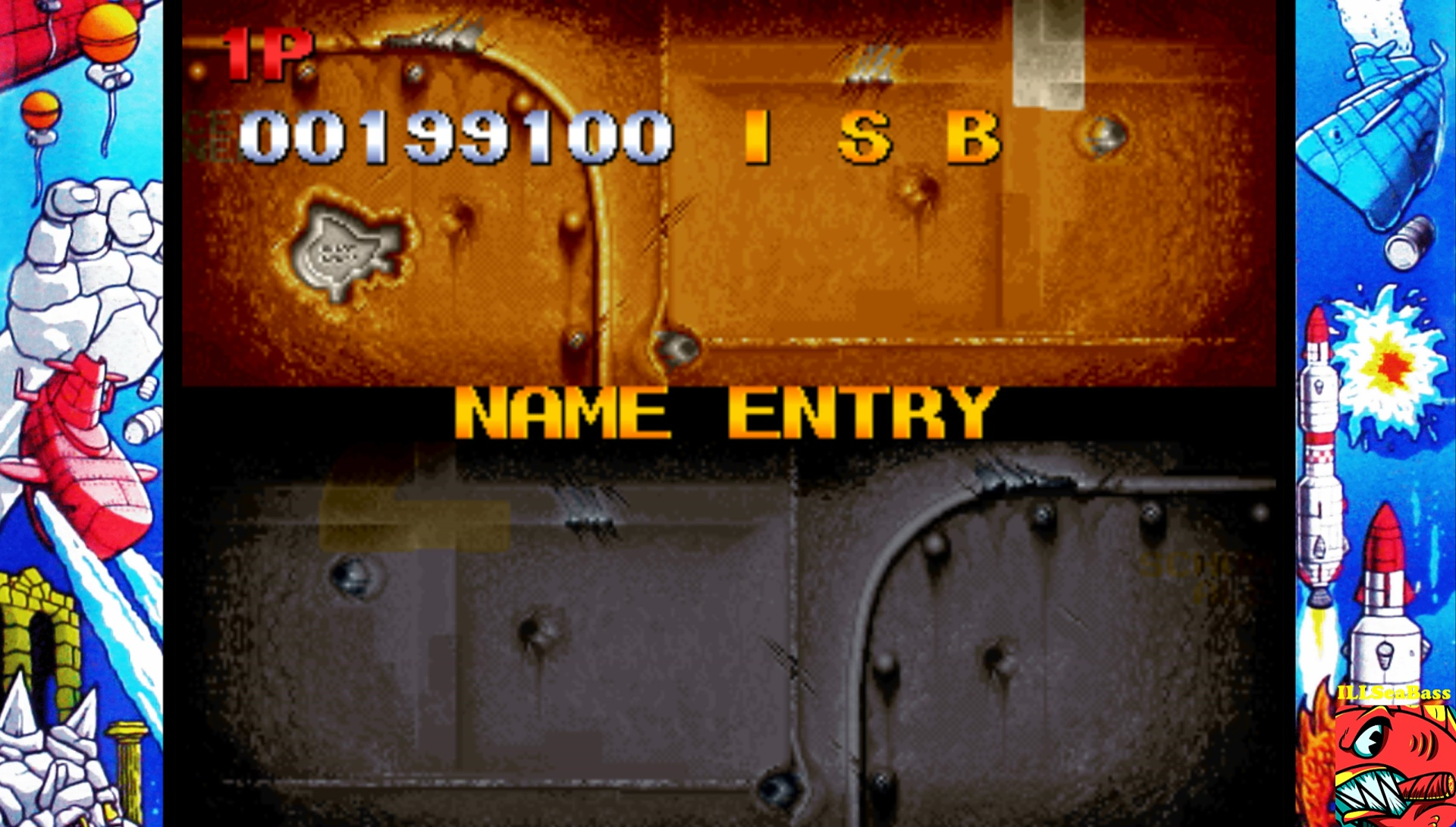 ILLSeaBass: In The Hunt [inthunt] (Arcade Emulated / M.A.M.E.) 199,100 points on 2017-02-11 23:31:51