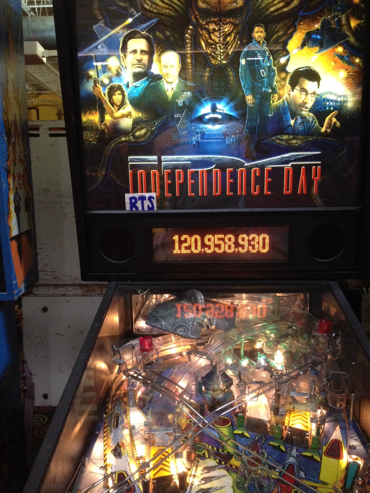 Independence Day 120,958,930 points