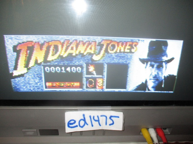 ed1475: Indiana Jones and the Last Crusade (Atari ST) 1,400 points on 2017-10-06 18:05:23