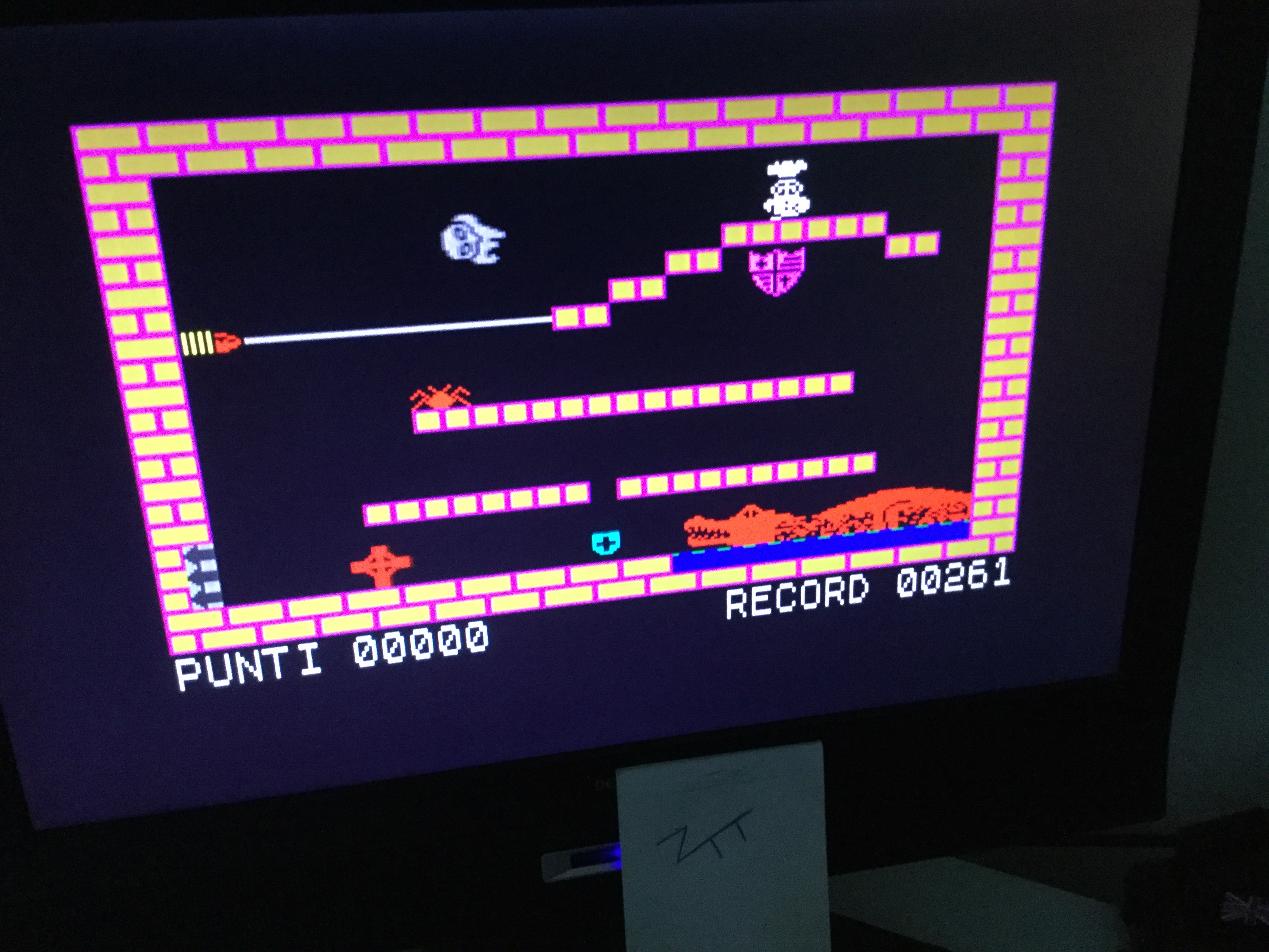 Frankie: Inferi (ZX Spectrum) 261 points on 2020-09-05 05:16:08