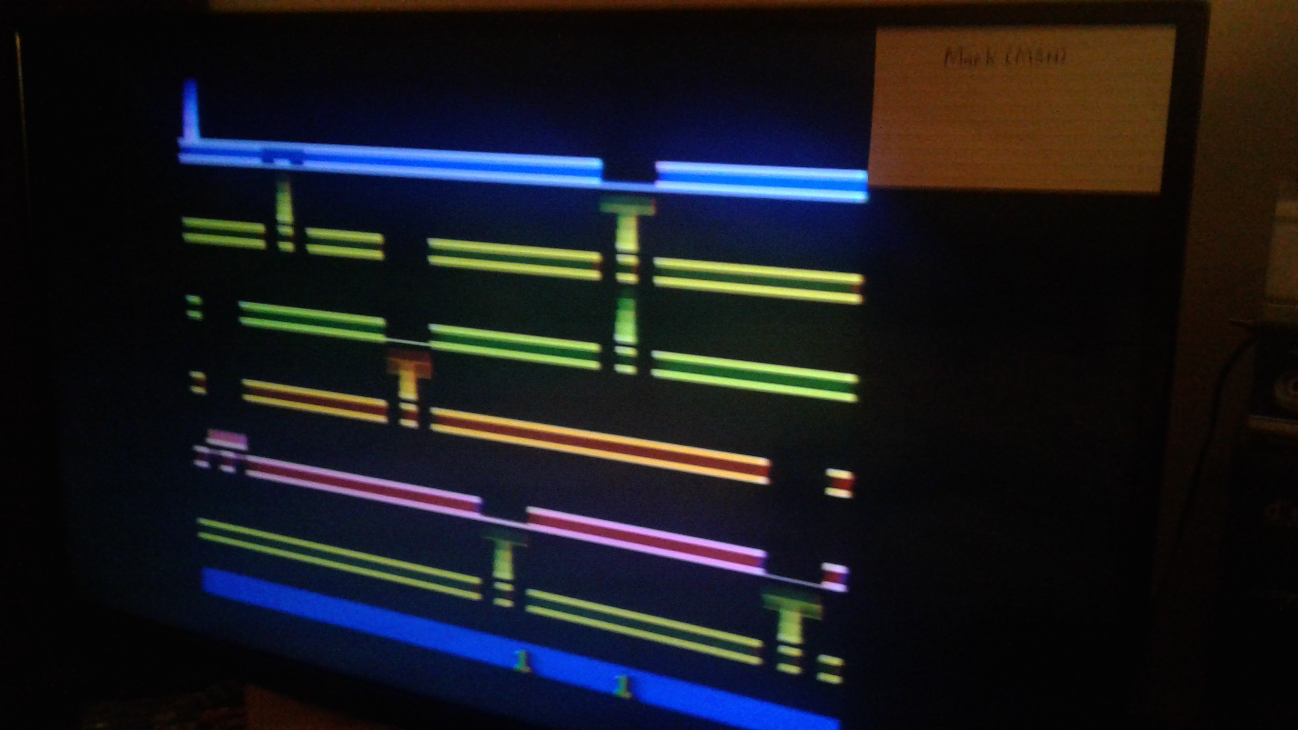 Mark: Infiltrate (Atari 2600 Novice/B) 13,175 points on 2019-02-25 03:14:17