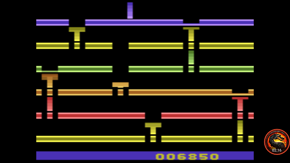 omargeddon: Infiltrate (Atari 2600 Emulated Expert/A Mode) 6,850 points on 2020-07-19 22:00:55