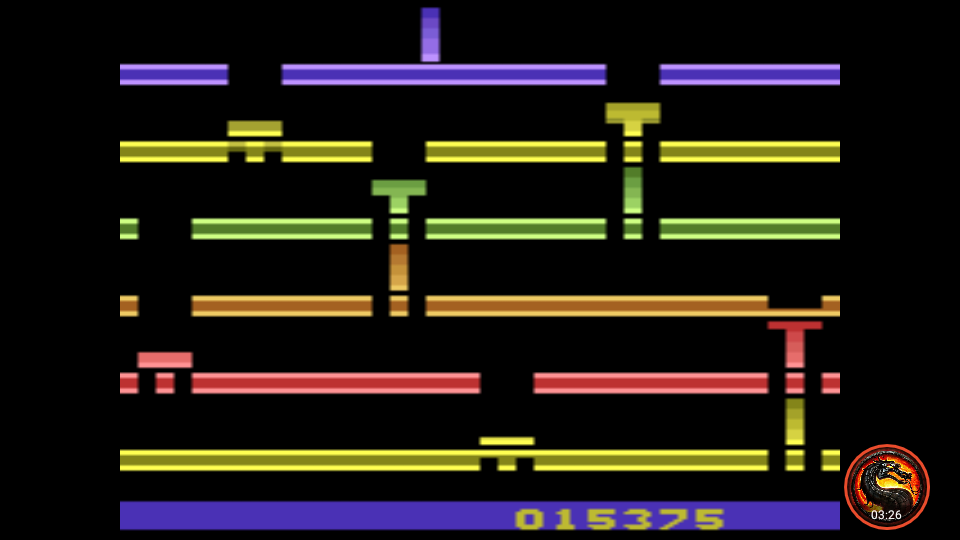 omargeddon: Infiltrate (Atari 2600 Emulated Novice/B Mode) 15,375 points on 2020-07-19 22:12:05