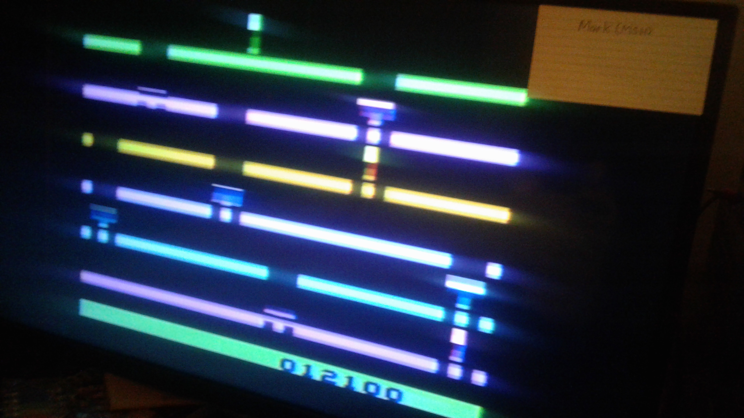 Mark: Infiltrate: Game 2 (Atari 2600 Novice/B) 12,100 points on 2019-02-27 01:38:03