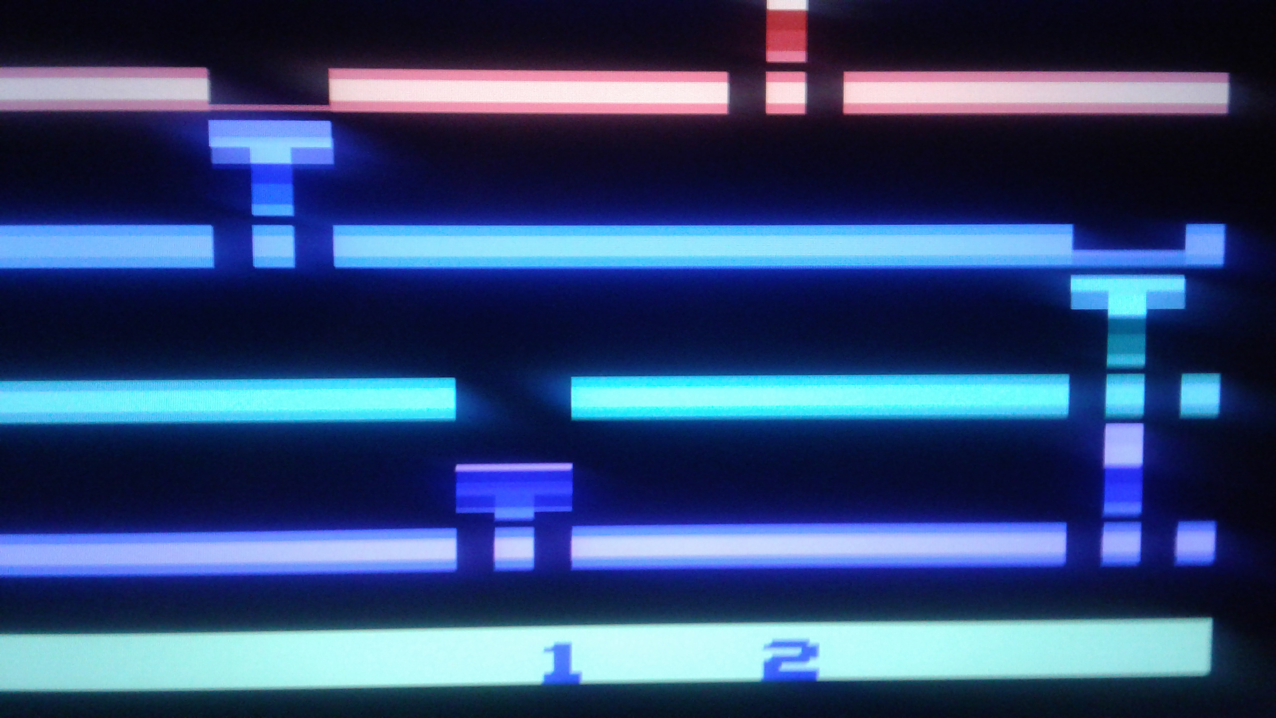 Mark: Infiltrate: Game 2 (Atari 2600 Emulated Novice/B Mode) 6,175 points on 2019-02-27 00:40:24