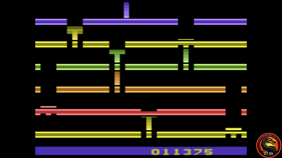 omargeddon: Infiltrate: Game 2 (Atari 2600 Emulated Novice/B Mode) 11,375 points on 2020-07-19 22:28:58