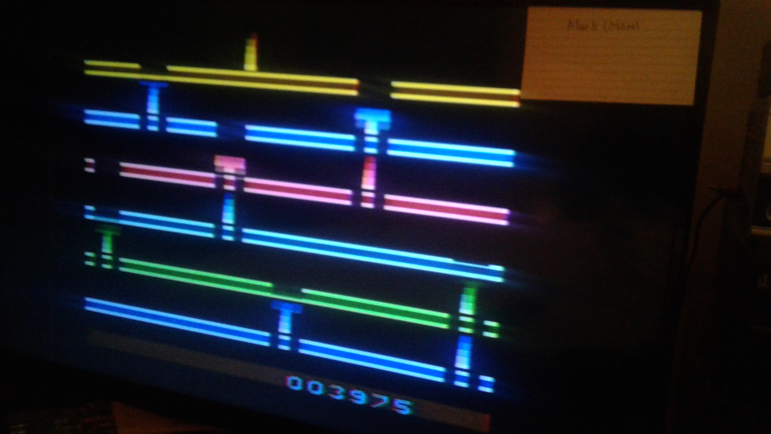 Mark: Infiltrate: Game 3 (Atari 2600 Expert/A) 3,975 points on 2019-02-27 02:22:31