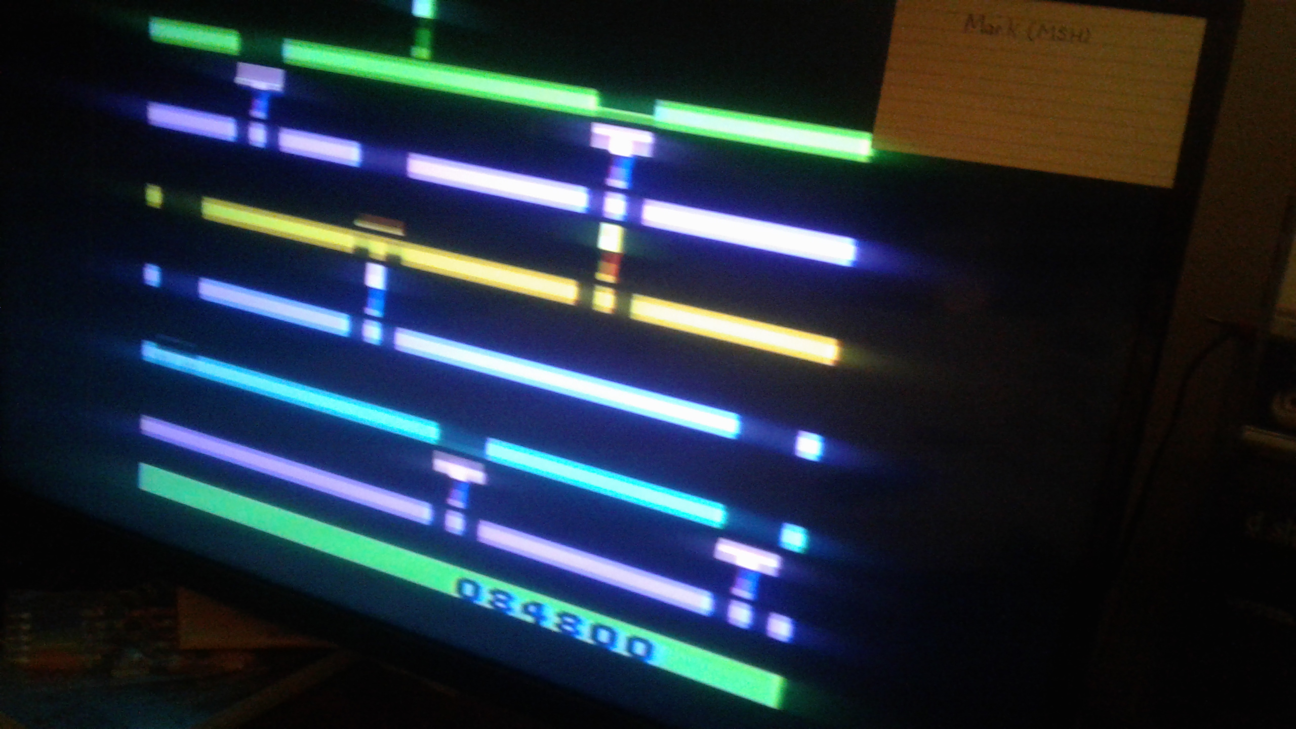 Mark: Infiltrate: Game 3 (Atari 2600 Novice/B) 84,800 points on 2019-02-27 02:01:06