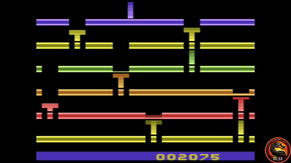 omargeddon: Infiltrate: Game 3 (Atari 2600 Emulated Expert/A Mode) 2,075 points on 2020-07-19 23:54:58