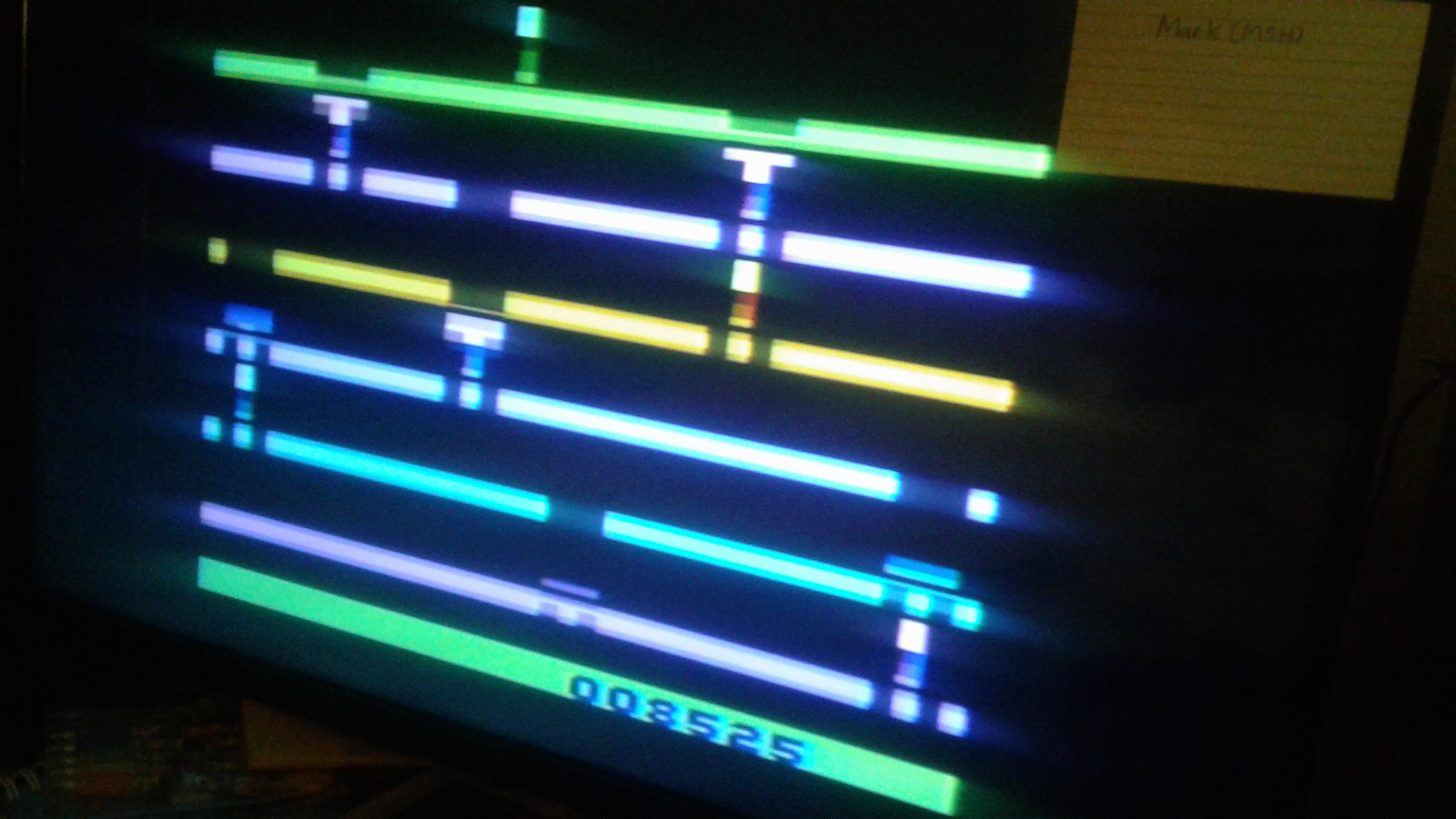 Mark: Infiltrate: Game 4 (Atari 2600 Novice/B) 8,525 points on 2019-02-27 02:29:20
