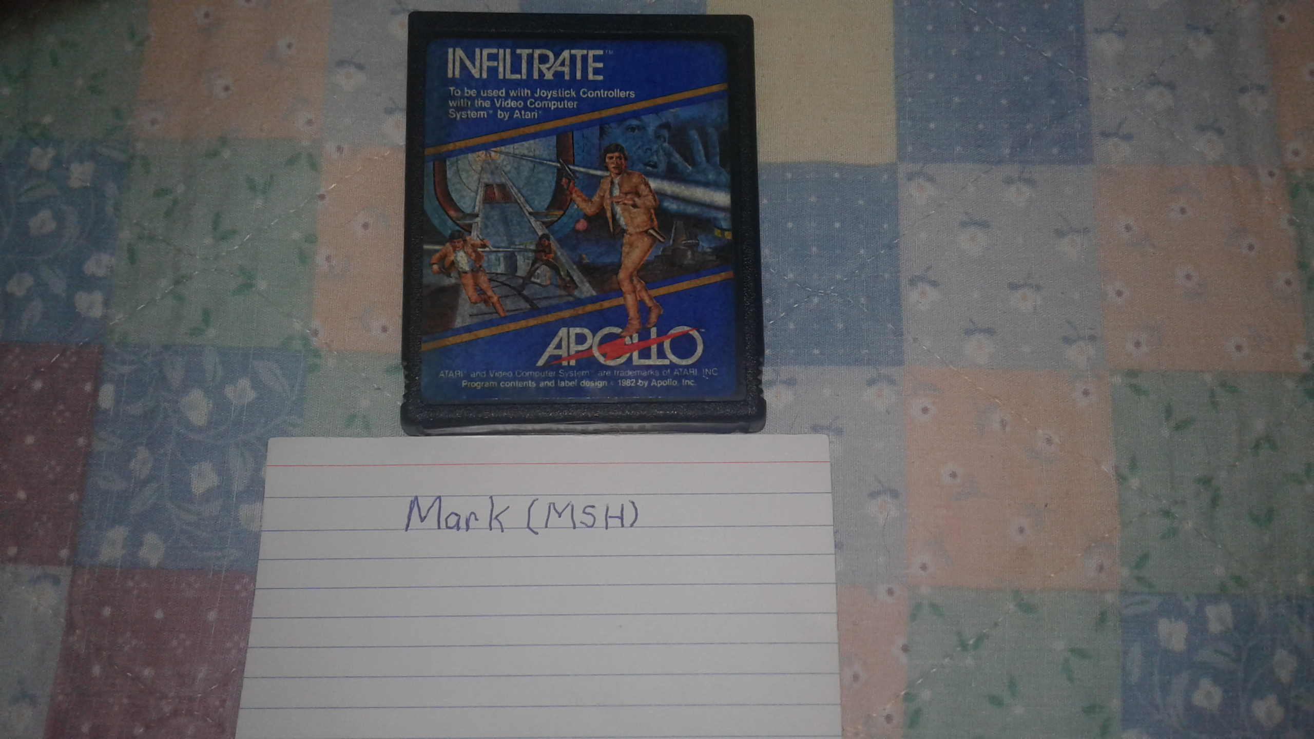 Mark: Infiltrate: Game 5 (Atari 2600 Expert/A) 10,400 points on 2019-03-03 01:53:42