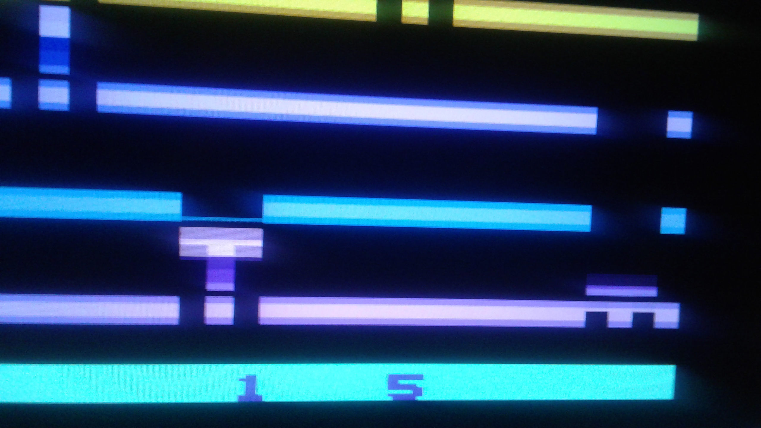 Mark: Infiltrate: Game 5 (Atari 2600 Emulated Expert/A Mode) 3,275 points on 2019-02-27 01:26:04