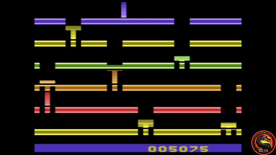 omargeddon: Infiltrate: Game 5 (Atari 2600 Emulated Novice/B Mode) 5,075 points on 2020-07-19 23:33:04