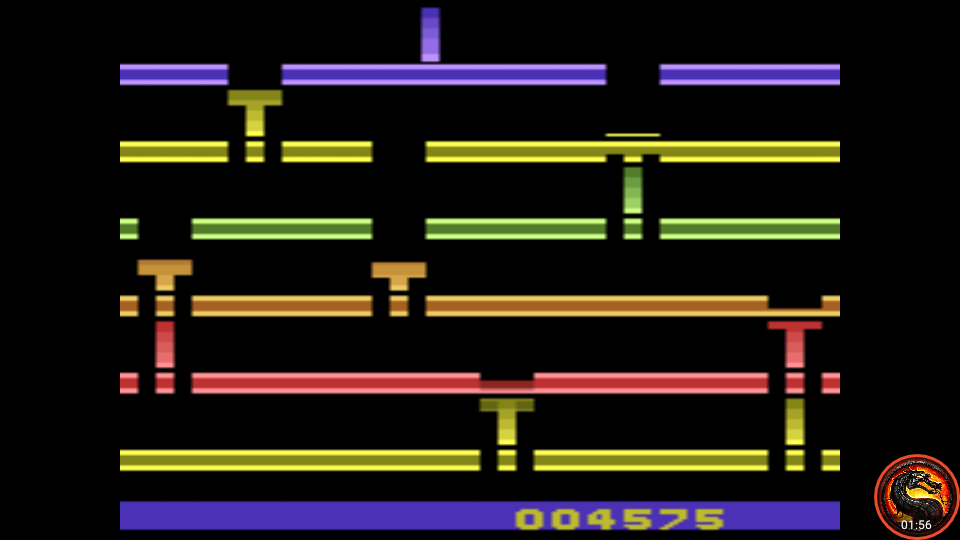 omargeddon: Infiltrate: Game 6 (Atari 2600 Emulated Novice/B Mode) 4,575 points on 2020-07-19 23:34:10