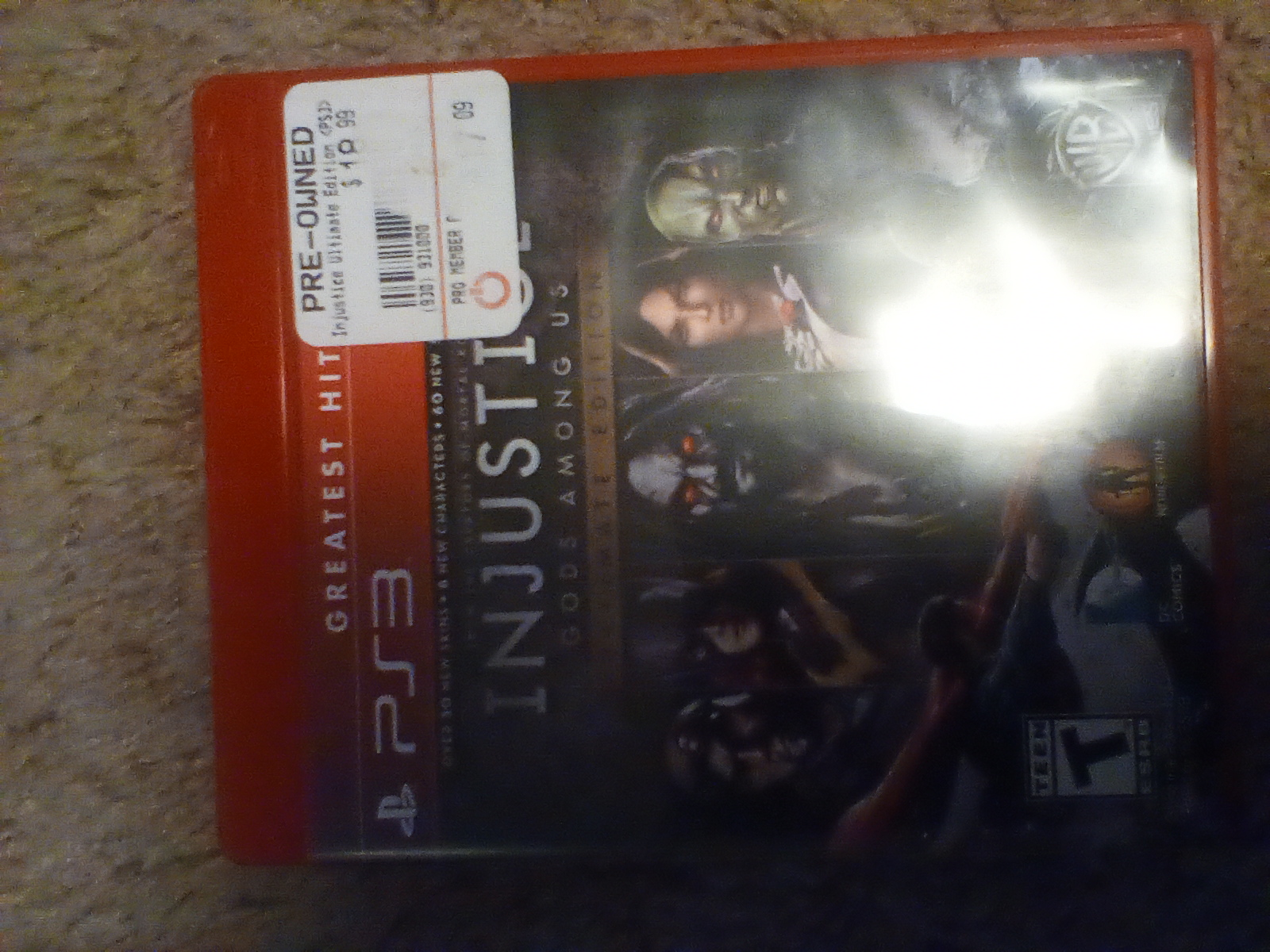 JML101582: Injustice: Gods Among Us: Ultimate Edition [Arcade] (Playstation 3) 500 points on 2020-03-16 21:29:36