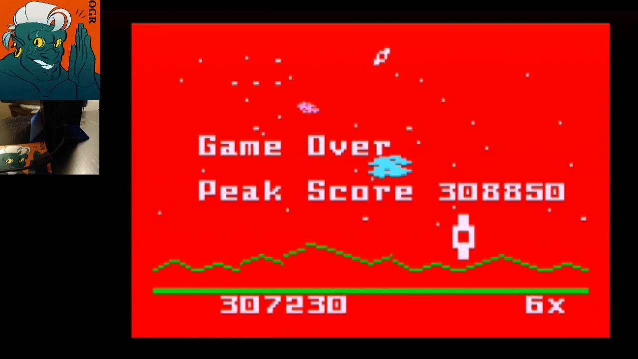 Intellivision Lives: Astrosmash 307,230 points