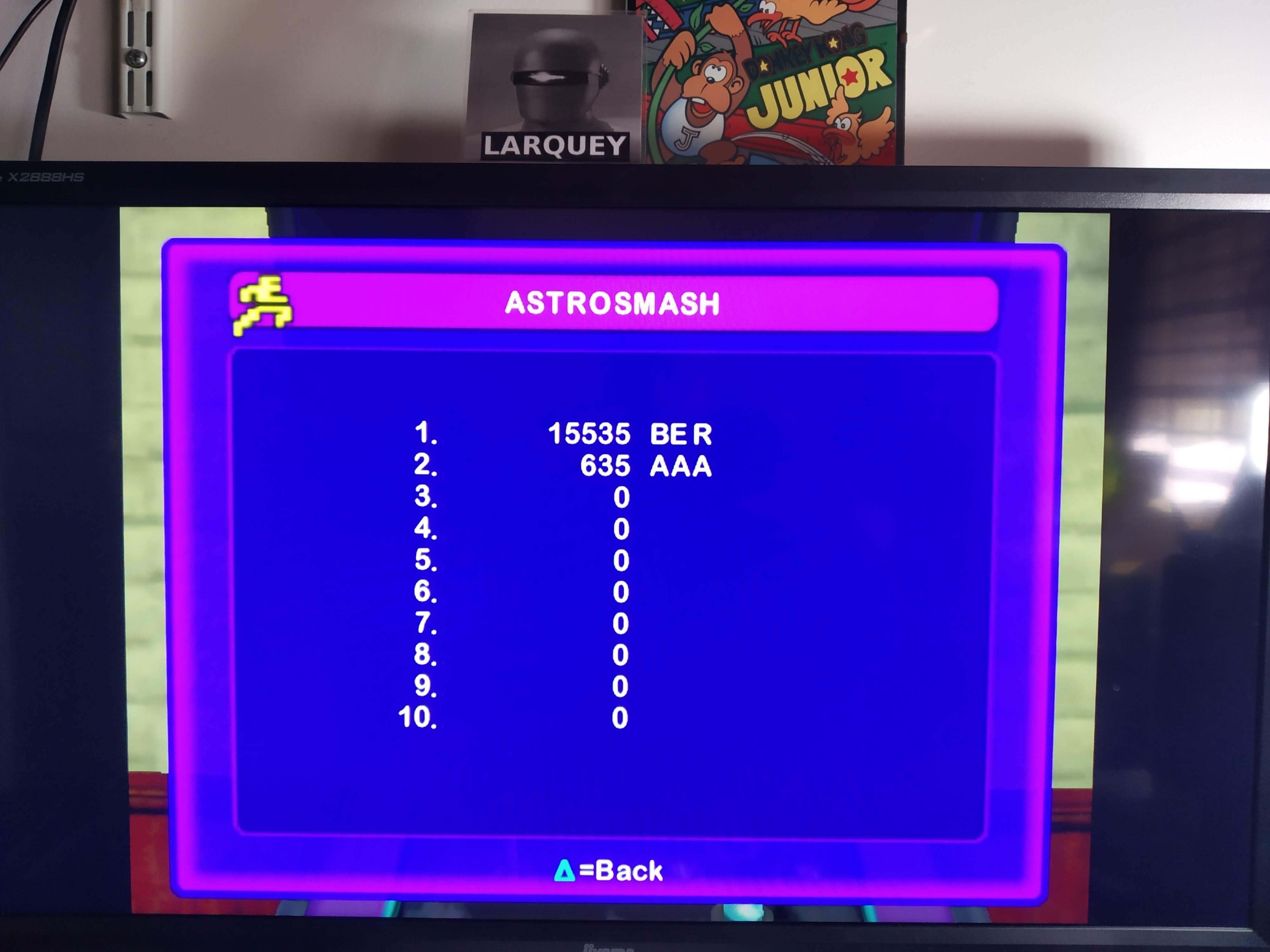 Larquey: Intellivision Lives: Astrosmash (Playstation 2 Emulated) 15,535 points on 2020-08-07 12:30:10