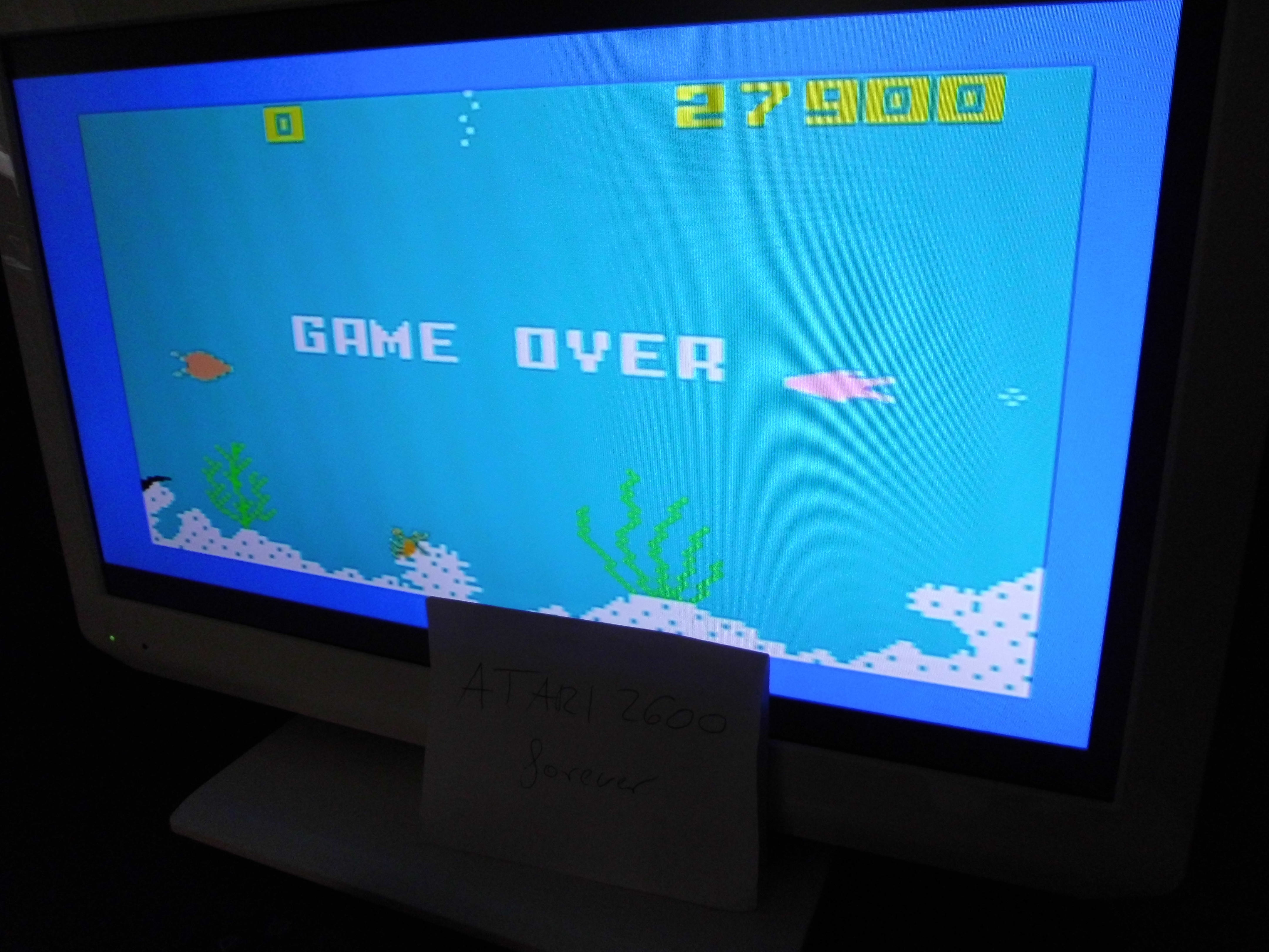 atari2600forever: Intellivision Lives: Shark! Shark! (Playstation 2) 27,900 points on 2018-02-01 10:48:43