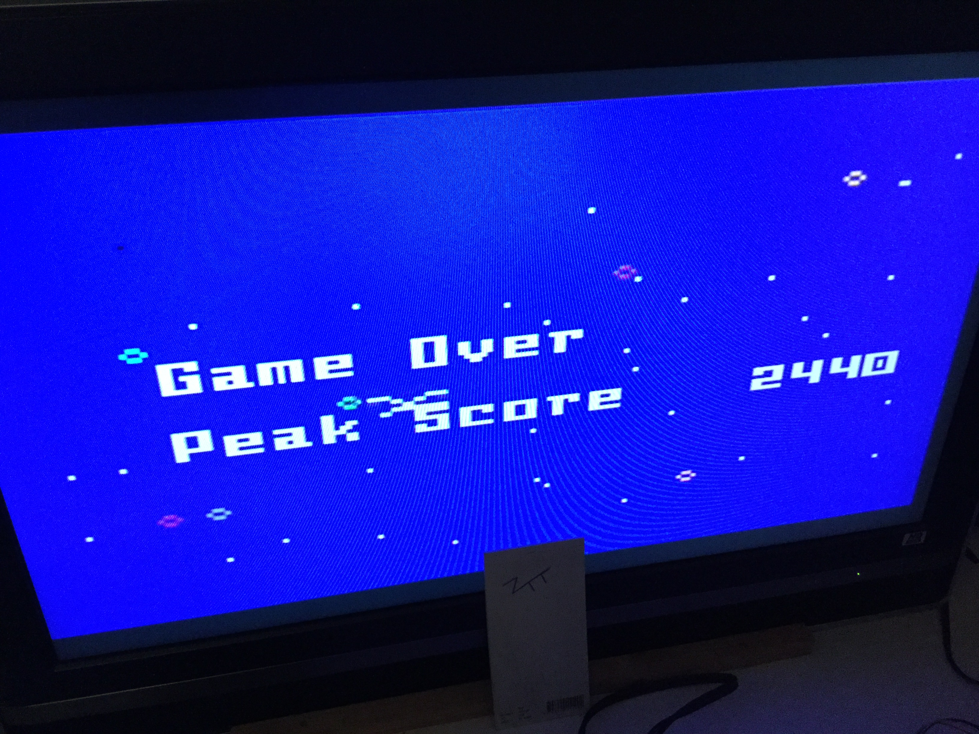Frankie: Intellivision Lives: Space Hawk (Playstation 2) 2,440 points on 2019-02-22 05:23:16