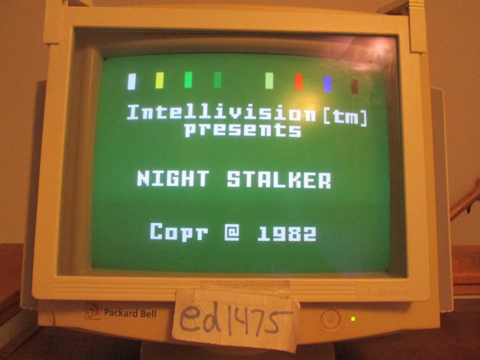ed1475: Intellivision for PC: Night Stalker: Game Disc [Fastest] (PC) 8,300 points on 2016-10-29 17:54:05