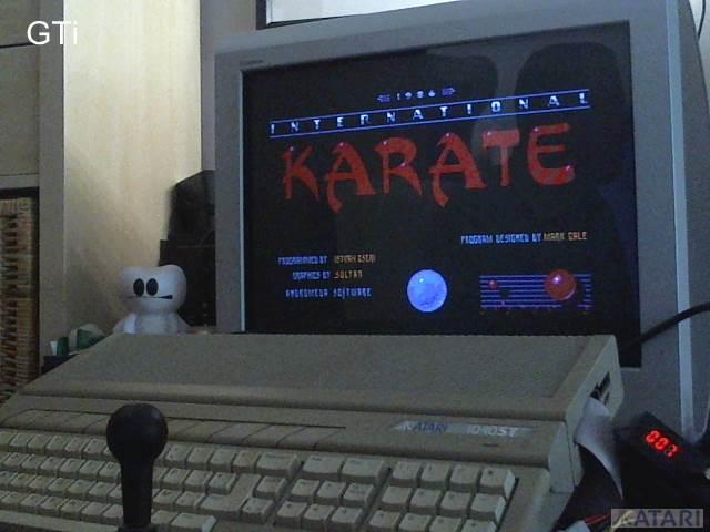 International Karate 20,550 points