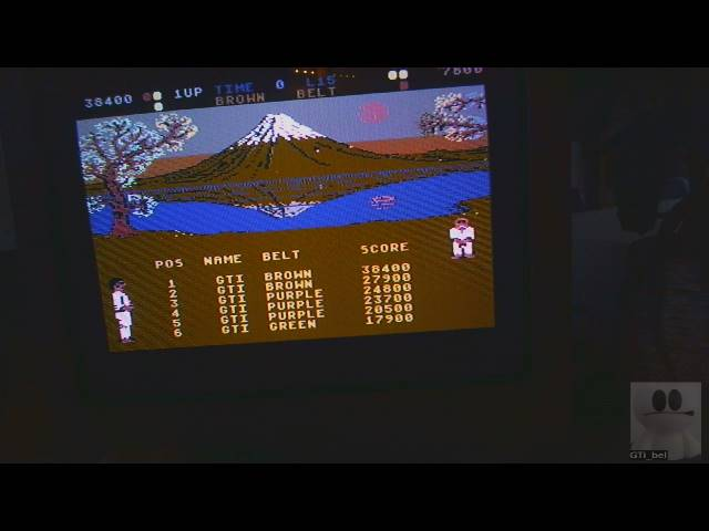 GTibel: International Karate (Commodore 64) 38,400 points on 2019-03-08 11:12:56