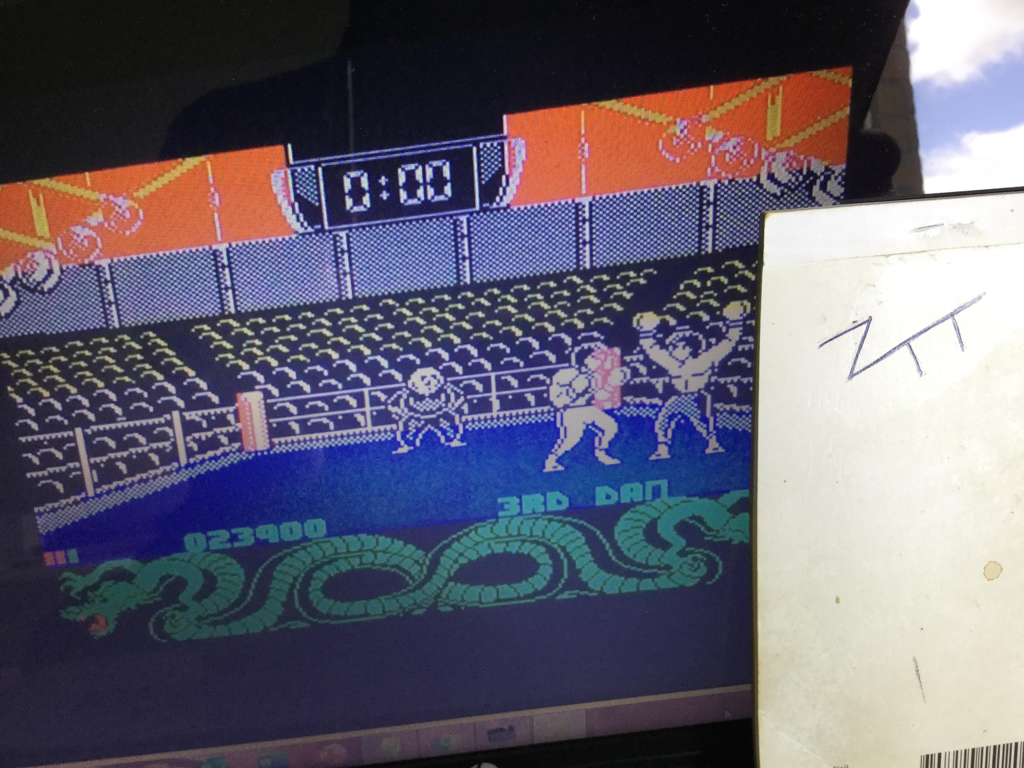 Frankie: International Kickboxing (ZX Spectrum) 23,900 points on 2020-09-05 07:11:57