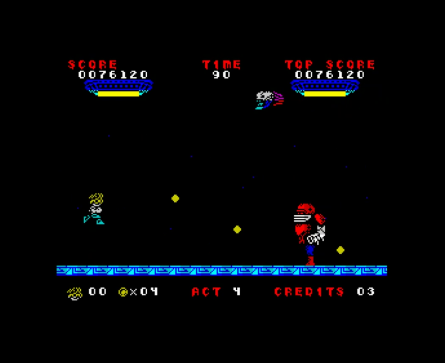 hughes10: Invasion of the Zombie Monsters (ZX Spectrum Emulated) 76,120 points on 2019-06-08 12:53:04