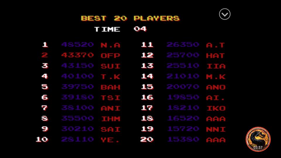 omargeddon: Irem Arcade Classics: Kung Fu Master (Playstation 1 Emulated) 43,370 points on 2019-04-16 07:17:30