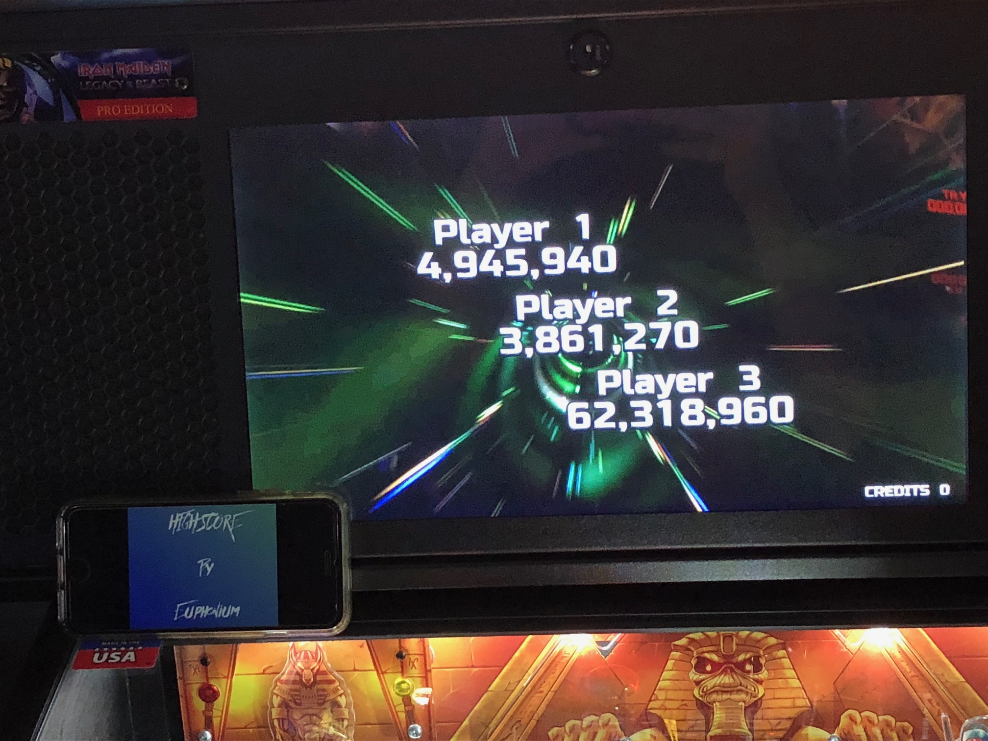 Iron Maiden 62,318,960 points