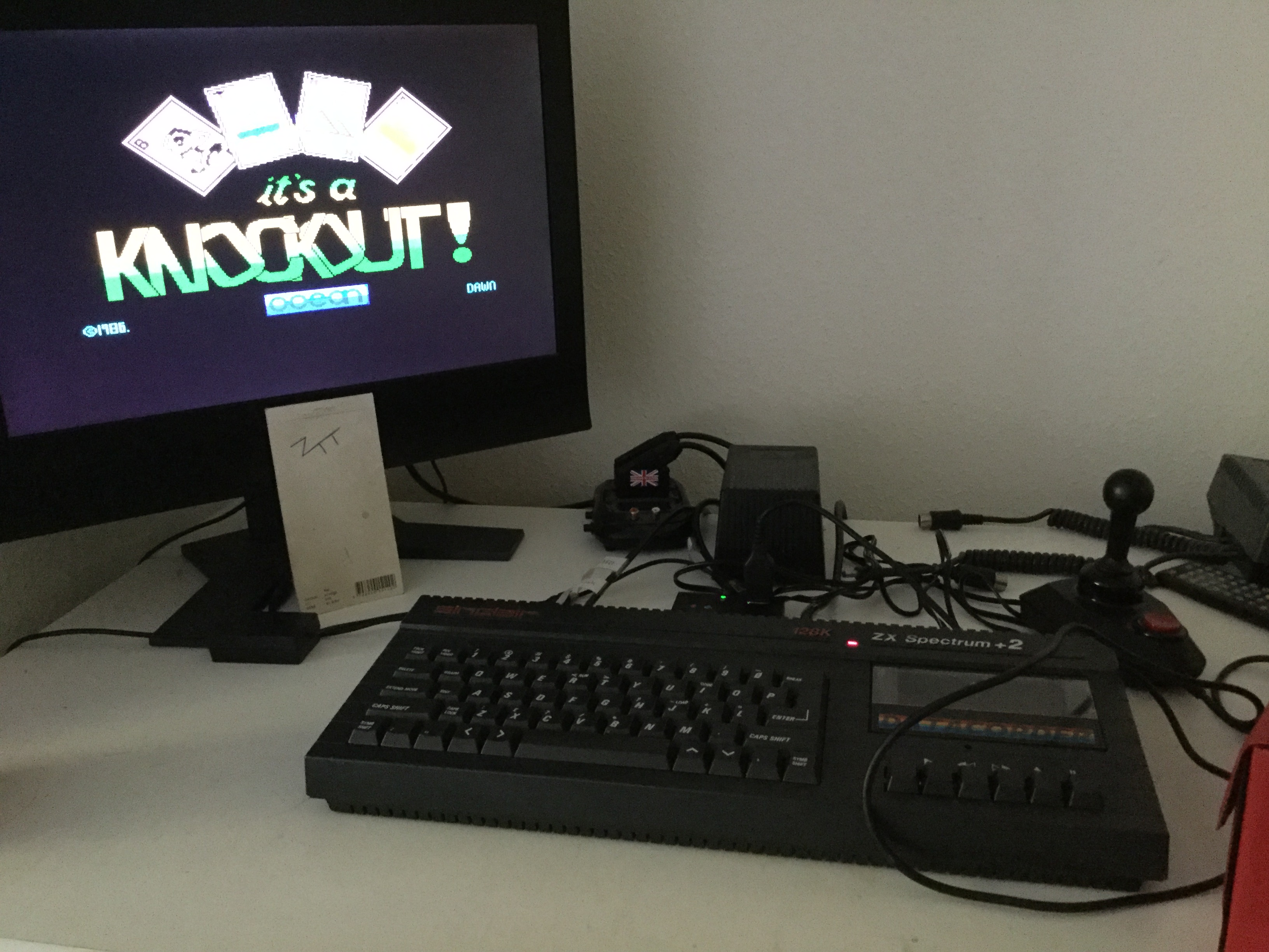 Frankie: It's a Knockout (ZX Spectrum) 23 points on 2020-09-18 06:07:33