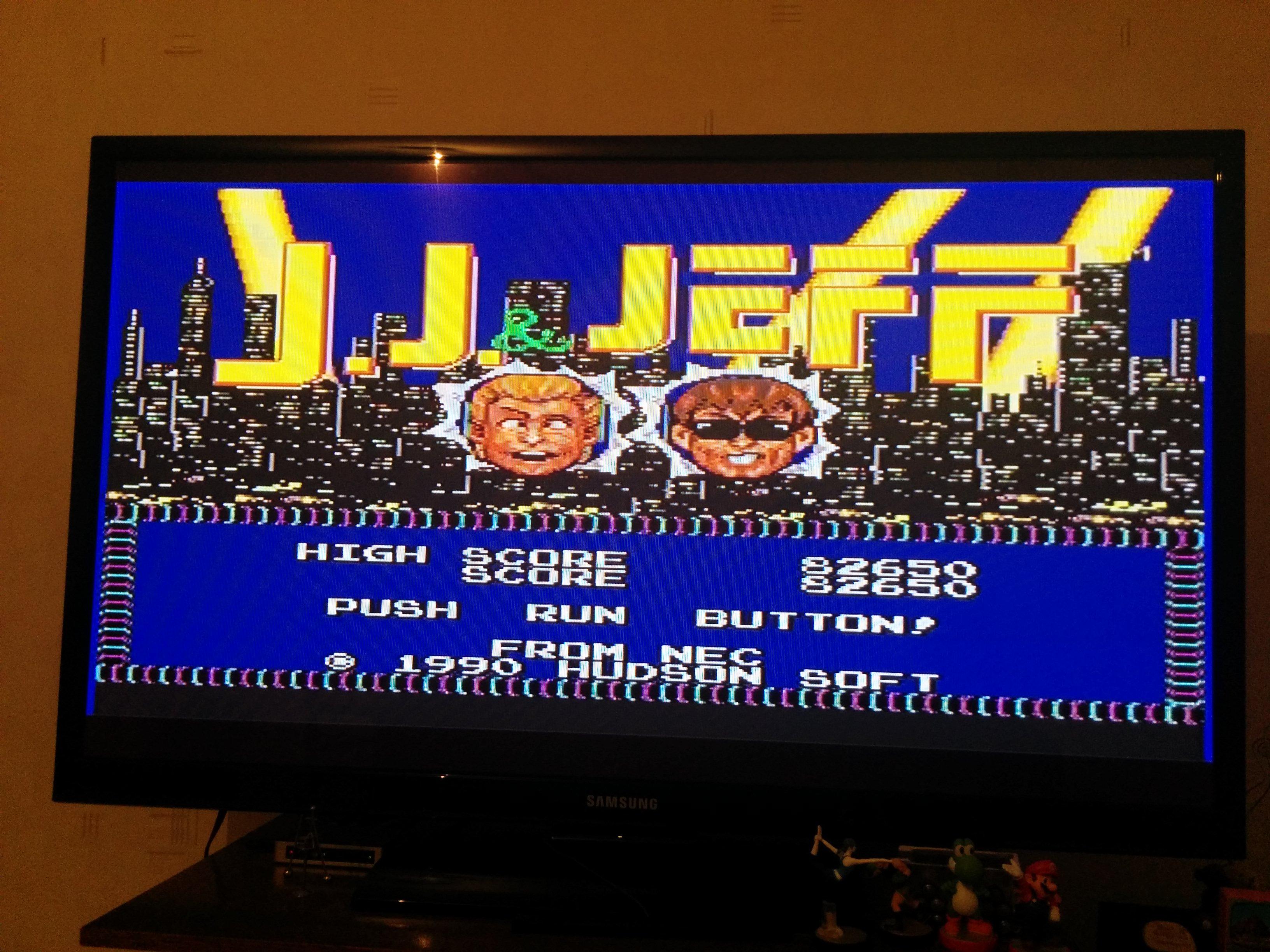 Mantalow: J.J. & Jeff (TurboGrafx-16/PC Engine) 82,650 points on 2015-11-06 15:10:48
