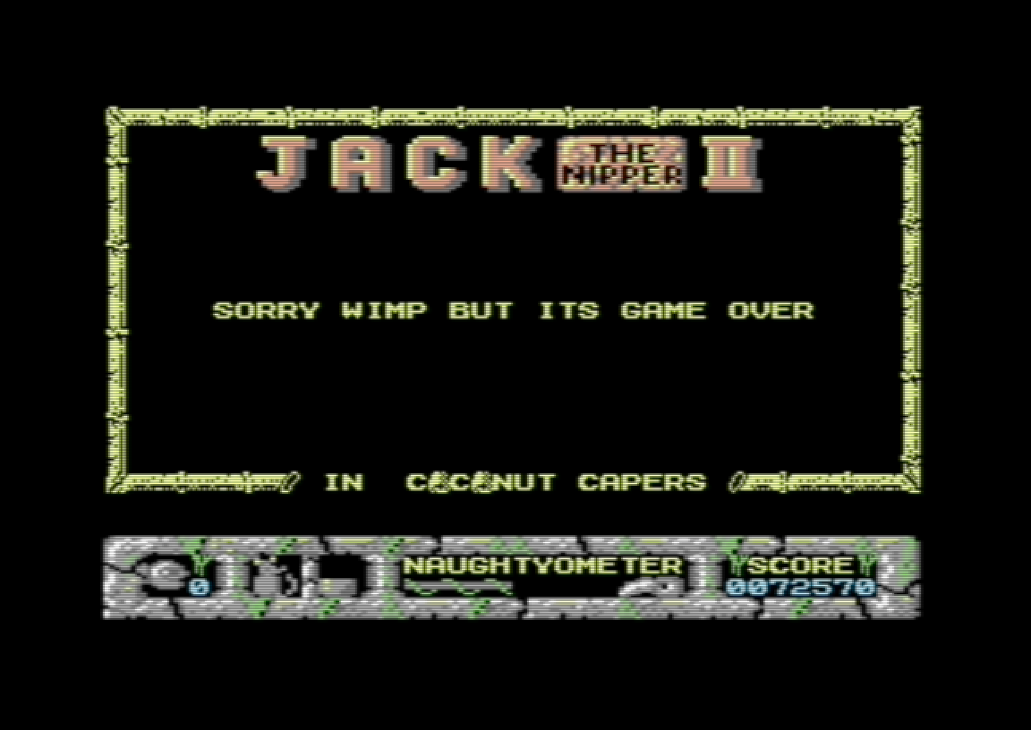 Jack The Nipper II 72,570 points