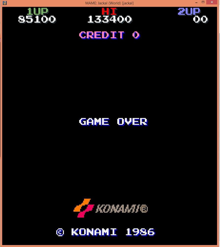 lenny2571: Jackal (Arcade Emulated / M.A.M.E.) 85,100 points on 2016-04-17 03:12:31