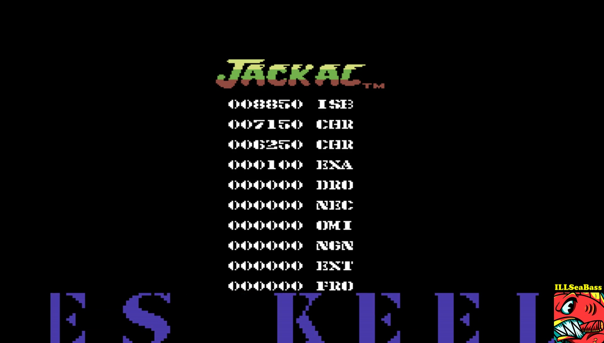ILLSeaBass: Jackal [UK Version] (Commodore 64 Emulated) 8,850 points on 2017-04-10 21:31:35