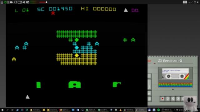 GTibel: Jail Break [B. Williams] (ZX Spectrum Emulated) 1,950 points on 2019-01-21 06:19:28