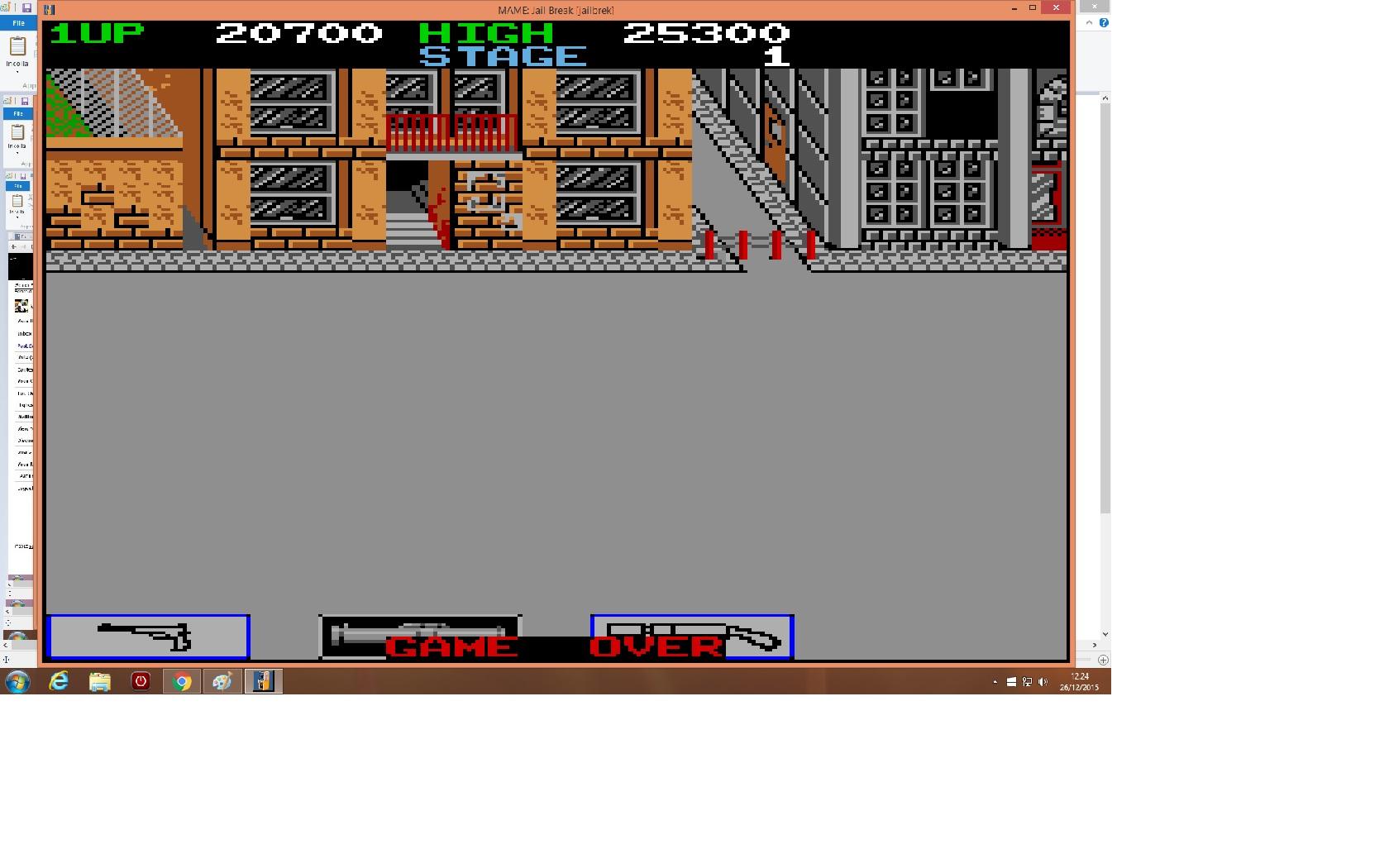 lenny2571: Jail Break [jailbrek] (Arcade Emulated / M.A.M.E.) 20,700 points on 2015-12-26 05:25:12