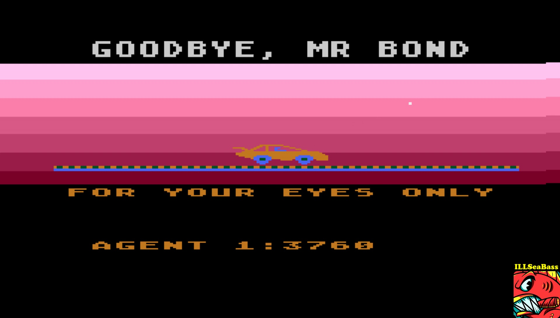 ILLSeaBass: James Bond 007 (Atari 400/800/XL/XE Emulated) 3,760 points on 2017-06-18 23:29:32