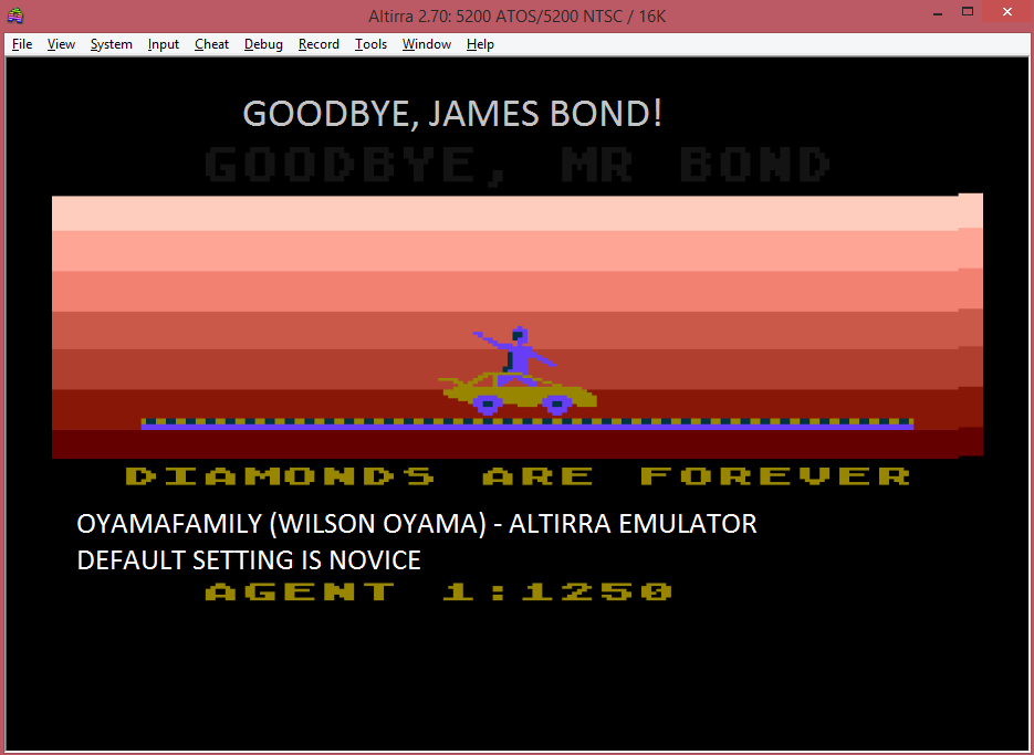 James Bond 007 1,250 points