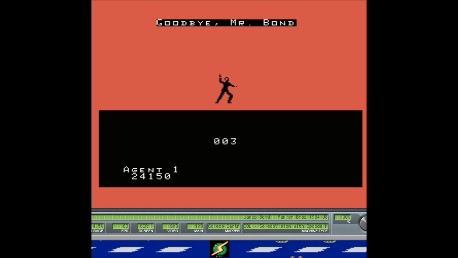 S.BAZ: James Bond 007: Beginner (Colecovision Emulated) 24,150 points on 2018-05-14 03:08:14
