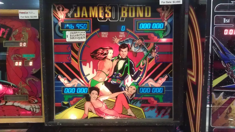 ichigokurosaki1991: James Bond 007 (Pinball: 3 Balls) 146,950 points on 2016-08-01 02:49:22