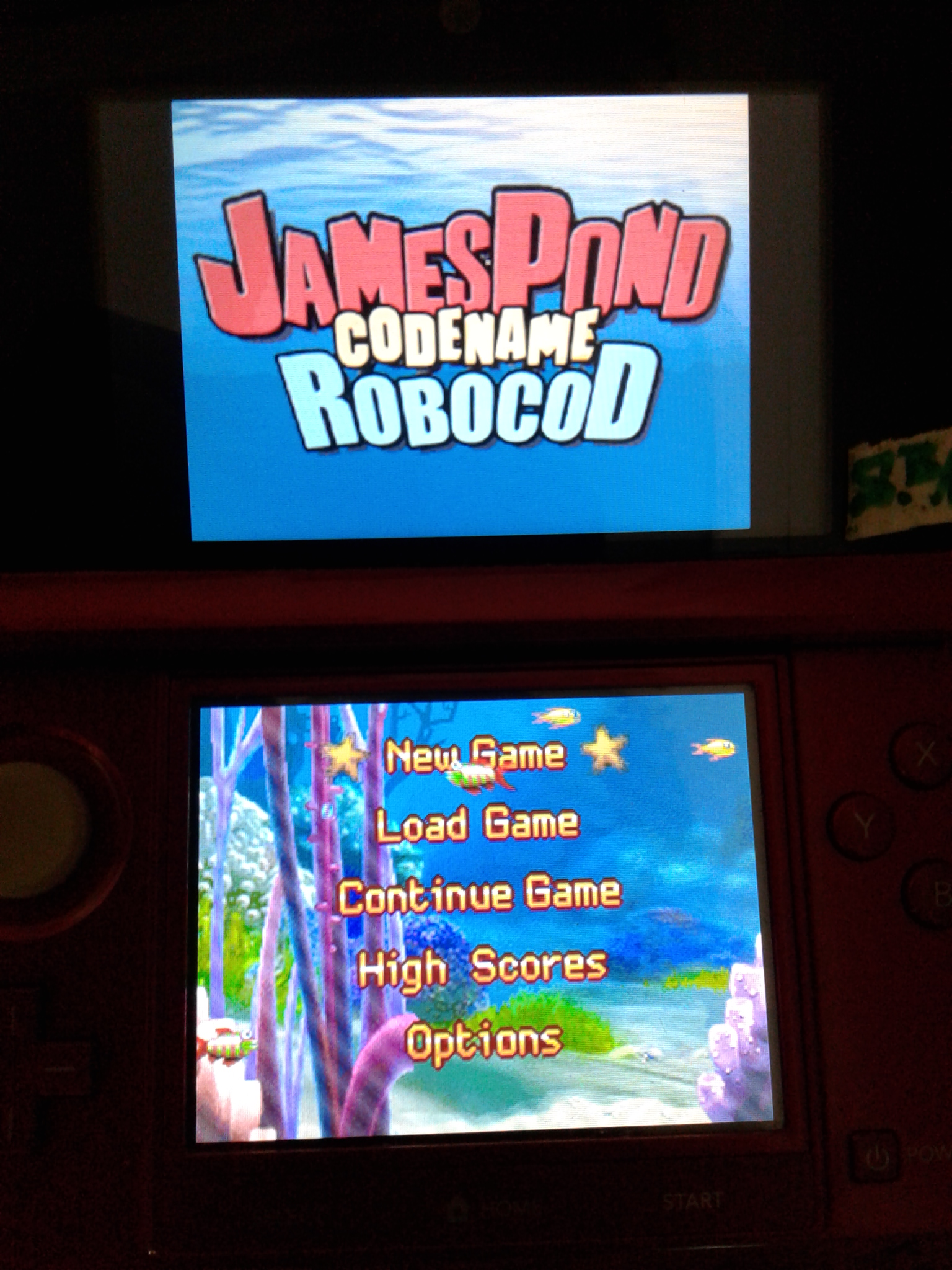 S.BAZ: James Pond: Codename RoboCod (Nintendo DS) 254,300 points on 2020-03-28 09:23:33