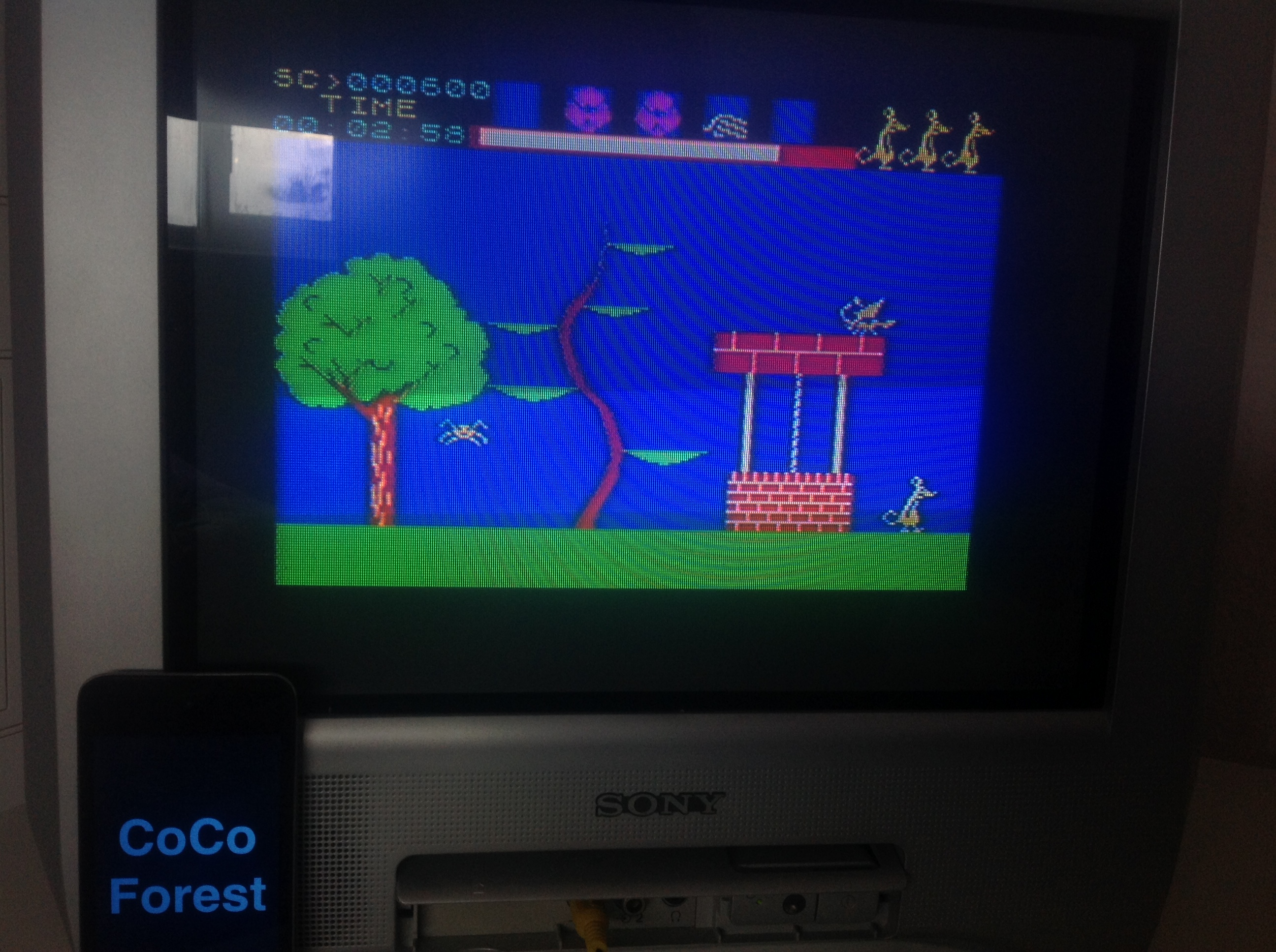 CoCoForest: Jasper! (ZX Spectrum) 600 points on 2016-01-17 04:07:29