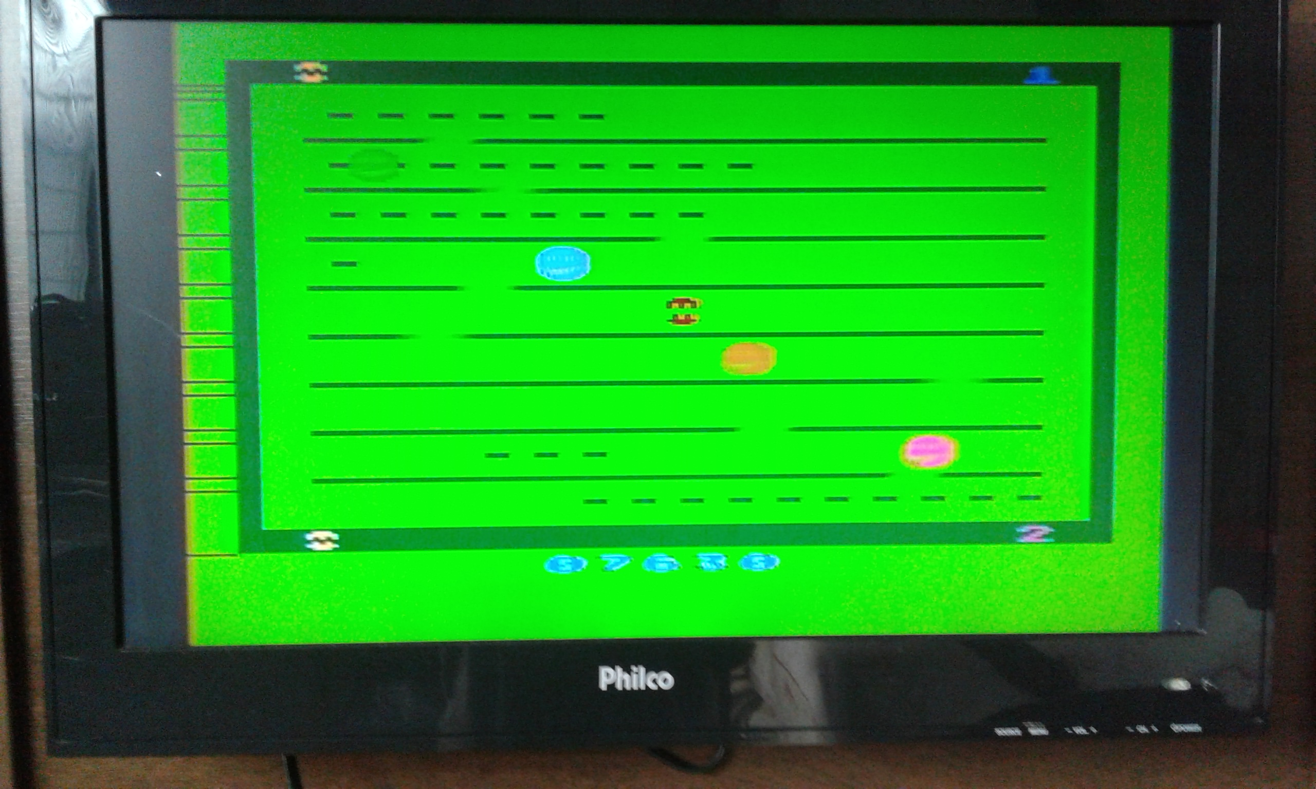 oyamafamily: Jawbreaker (Atari 2600 Expert/A) 7,630 points on 2020-05-24 15:15:23