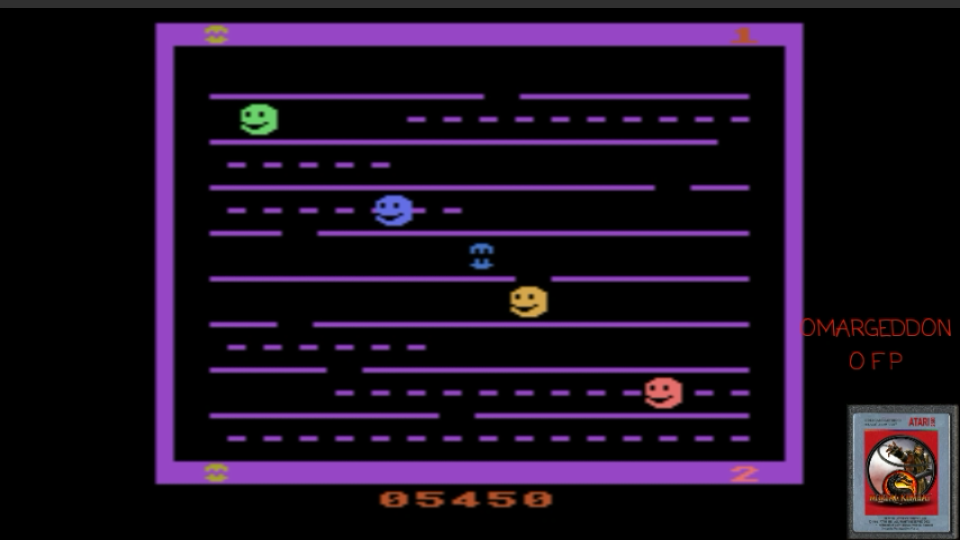 omargeddon: Jawbreaker (Atari 2600 Emulated Novice/B Mode) 5,450 points on 2017-04-18 23:51:07