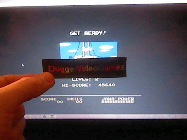 DuggerVideoGames: Jaws (NES/Famicom Emulated) 45,640 points on 2018-02-10 16:02:28